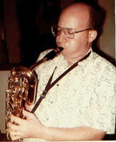 Alan with Bari Sax